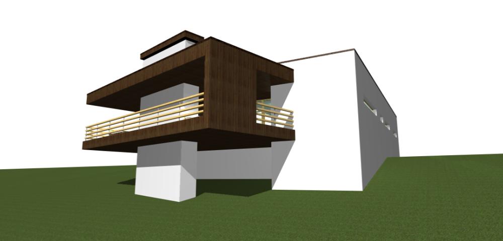 Одноэтажный минимализм